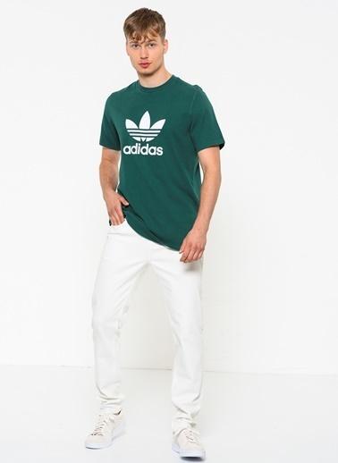 adidas Baskılı Tişört Yeşil